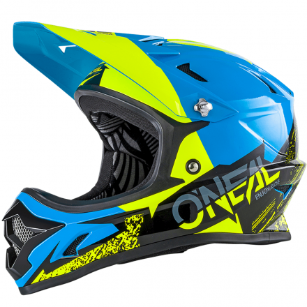 CASCO BACKFLIP RL2 BURNOUT BLK/BLU/HI-VIZ