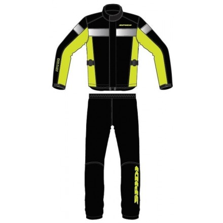 COMPLETO TOURING RAIN LADY YELLOW FLUO