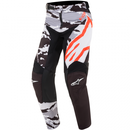 PANTALONE YOUTH RACER TACTICAL BLK/GR/CAM/RD FL
