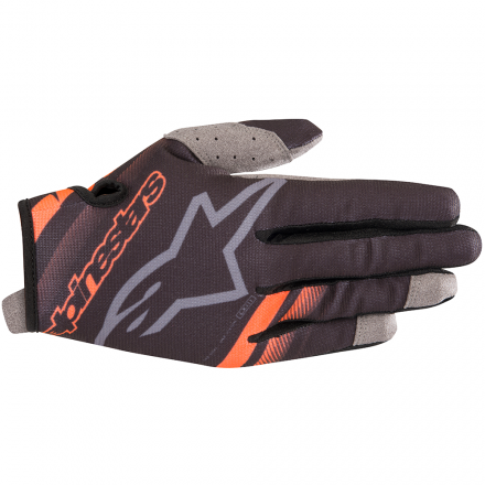 GUANTO RADAR BLACK/ORANGE FLUO