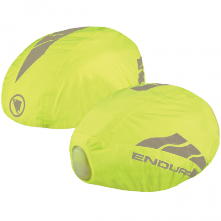 COVER CASCO IMPERMEABILE W/LED HV YELLOW